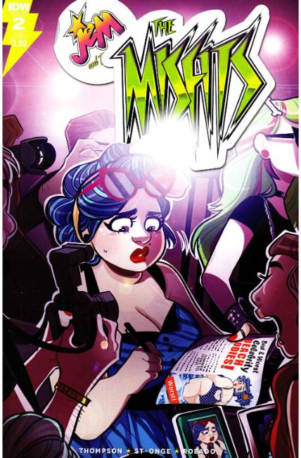 Jem Misfits #2 Subscription Cover [IDW Comic] THUMBNAIL