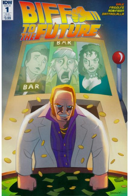 Back to the Future Biff to the Future #1 Subscription Cover [IDW Comic]