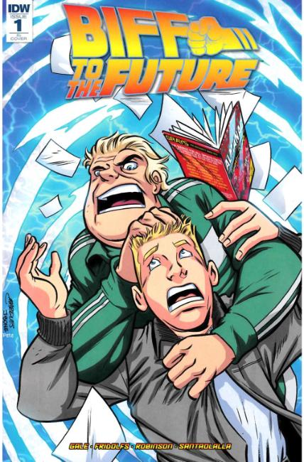 Back to the Future Biff to the Future #1 Cover RI [IDW Comic]