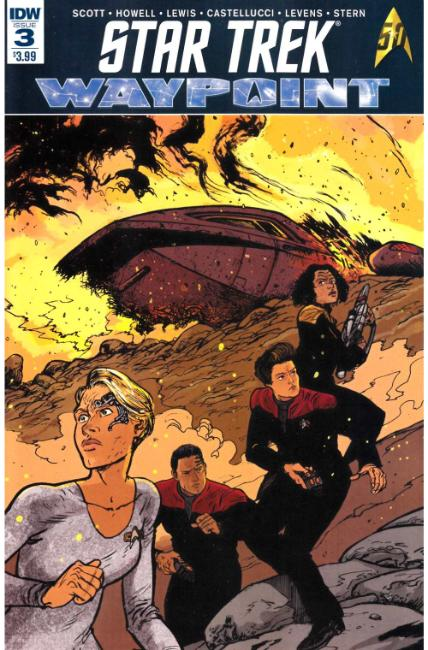 Star Trek Waypoint #3 [IDW Comic] LARGE