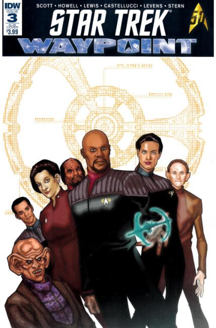 Star Trek Waypoint #3 Subscription Cover [IDW Comic]