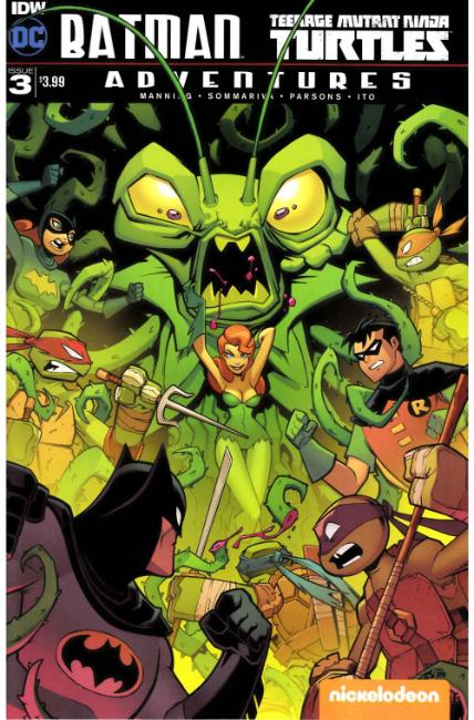 Batman TMNT Adventures #3 [IDW Comic]