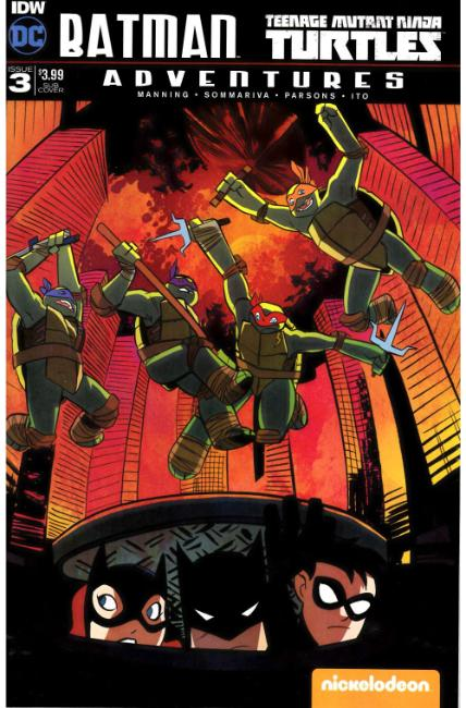 Batman TMNT Adventures #3 Subscription Cover [IDW Comic]