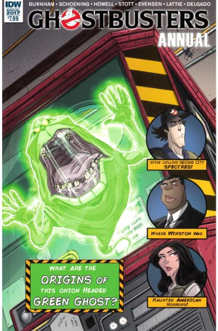 Ghostbusters Annual 2017 (One Shot) [IDW Comic] THUMBNAIL