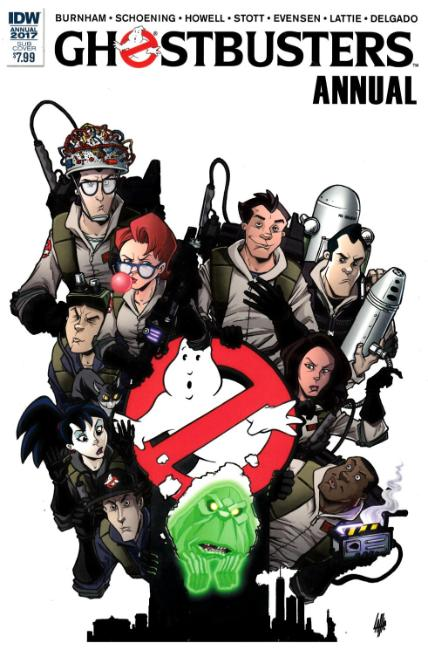 Ghostbusters Annual 2017 (One Shot) Subscription Cover [IDW Comic] THUMBNAIL
