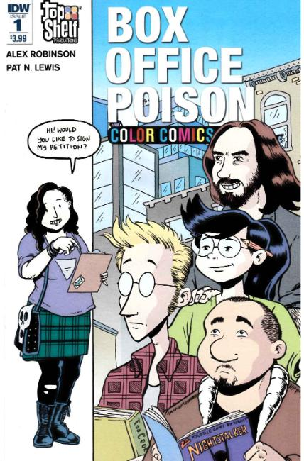 Box Office Poison Color Comics #1 [IDW Comic]