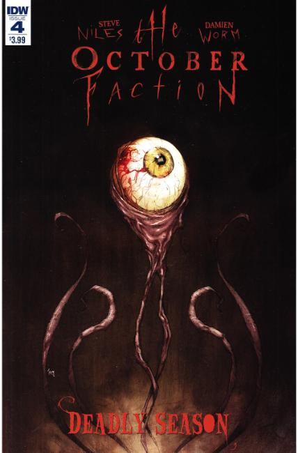 October Faction Deadly Season #4 [IDW Comic] THUMBNAIL