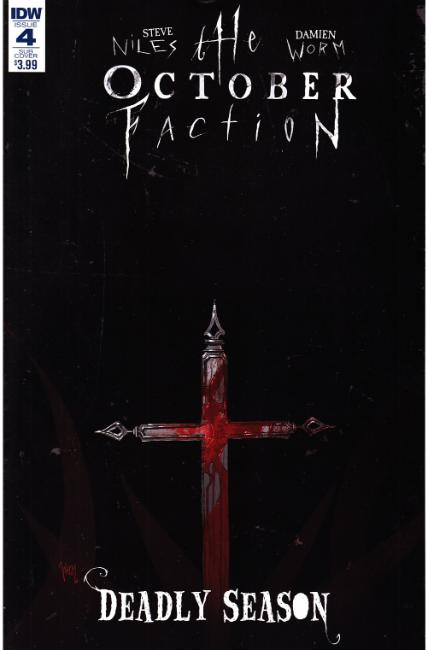 October Faction Deadly Season #4 Subscription Cover [IDW Comic] THUMBNAIL