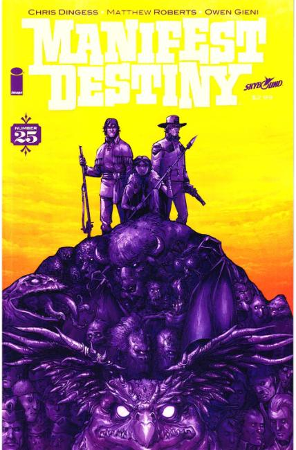Manifest Destiny #25 [Image Comic] LARGE