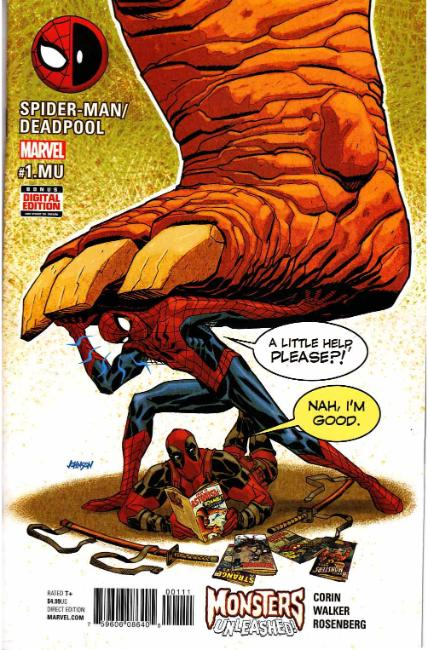 Spider-Man Deadpool #1.MU [Marvel Comic] THUMBNAIL