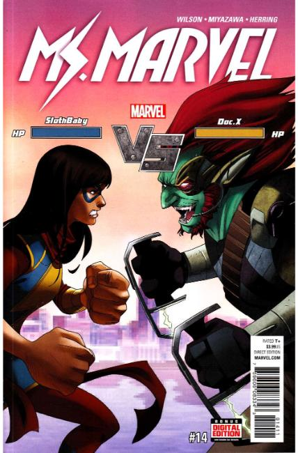 Ms Marvel #14 [Marvel Comic] LARGE
