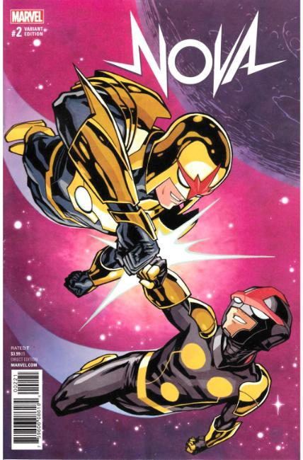 Nova #2 Chiang Variant Cover [Marvel Comic] THUMBNAIL