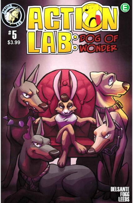 Action Lab Dog of Wonder #5 Cover A [Action Lab Comic] THUMBNAIL