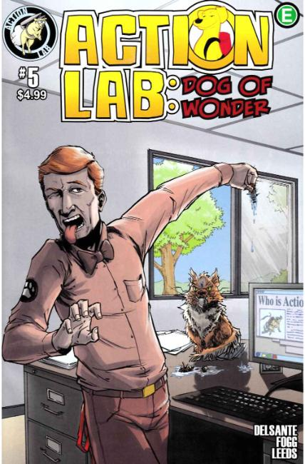 Action Lab Dog of Wonder #5 Cover B [Action Lab Comic] THUMBNAIL