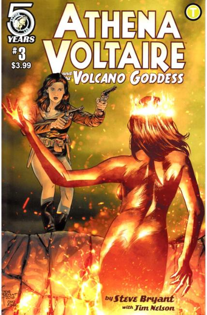 Athena Voltaire and the Volcano Goddess #3 Cover A [Action Lab Comic] THUMBNAIL