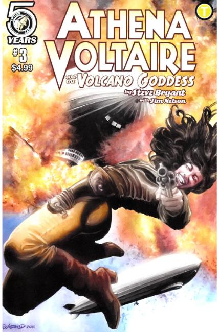 Athena Voltaire and the Volcano Goddess #3 Cover B [Action Lab Comic] THUMBNAIL