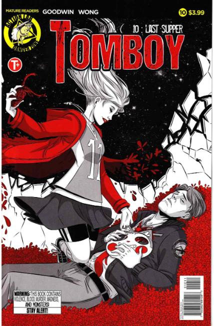 Tomboy #10 Cover A [Action Lab Comic] THUMBNAIL