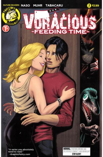 Voracious Feeding Time #2 Cover A [Action Lab Comic] THUMBNAIL