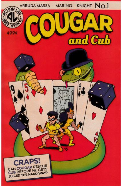 Cougar and Cub #1 Cover C [Action Lab Comic] THUMBNAIL