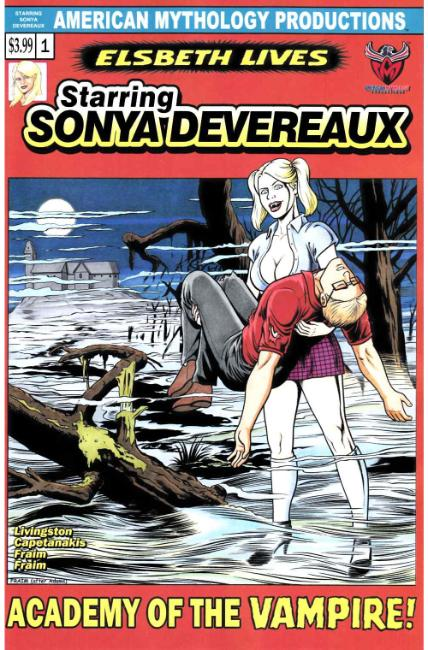 Starring Sonya Devereaux #2 Horror Homage Cover [American Myth Comic] THUMBNAIL