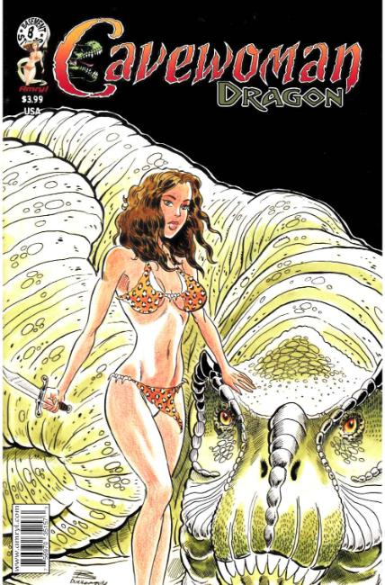 Cavewoman Dragon #1 Cover A [Amryl Comic] THUMBNAIL