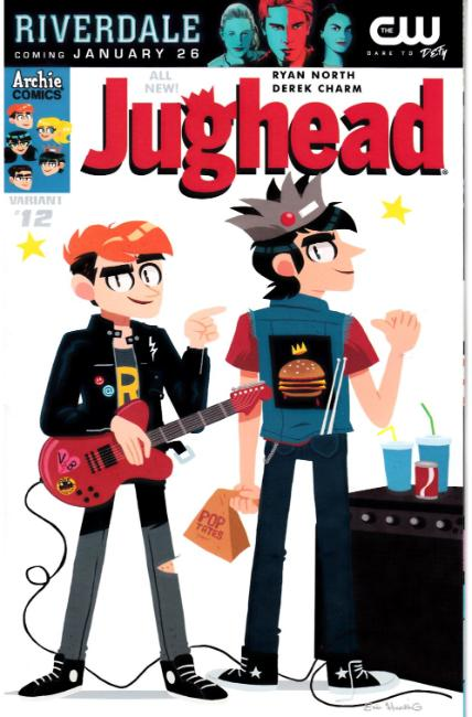 Jughead #12 Cover B [Archie Comic] LARGE