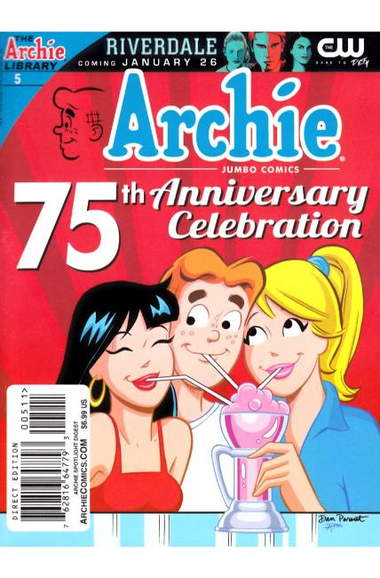 Archie 75th Anniversary Digest #5 [Archie Comic] LARGE