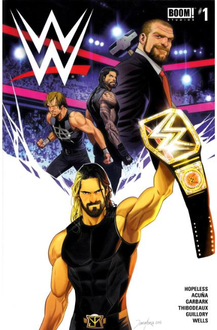 WWE #1 Near Mint (9.4) [Boom Comic] LARGE