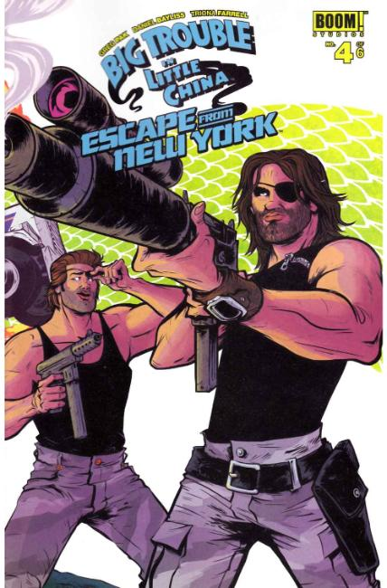 Big Trouble In Little China Escape New York #4 [Boom Comic] THUMBNAIL