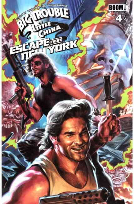 Big Trouble In Little China Escape New York #4 Subscription Cover [Boom Comic]