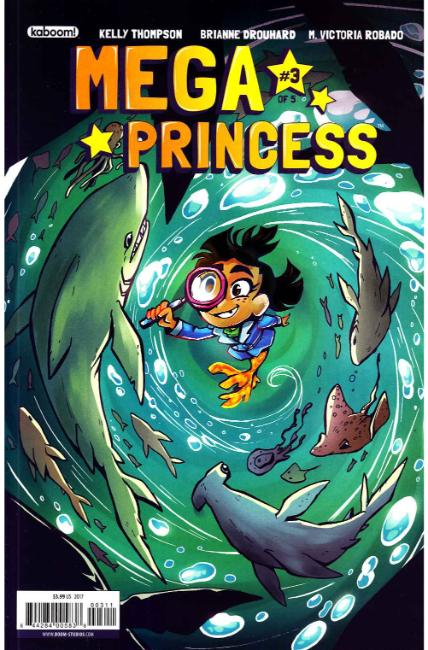 Mega Princess #3 [Boom Comic]