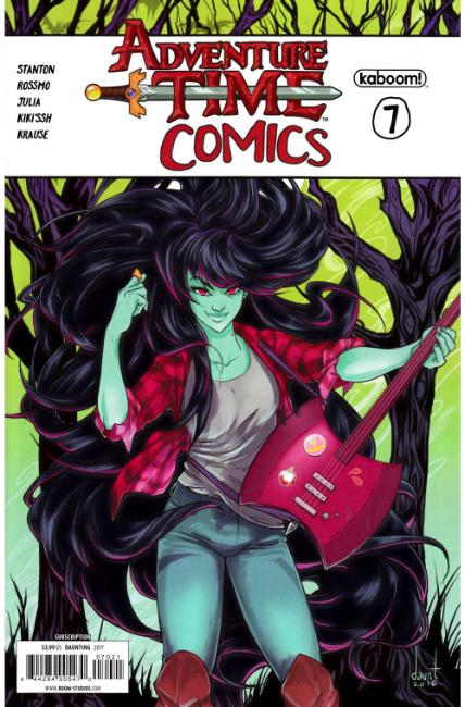 Adventure Time Comics #7 Subscription Cover [Boom Comic] LARGE