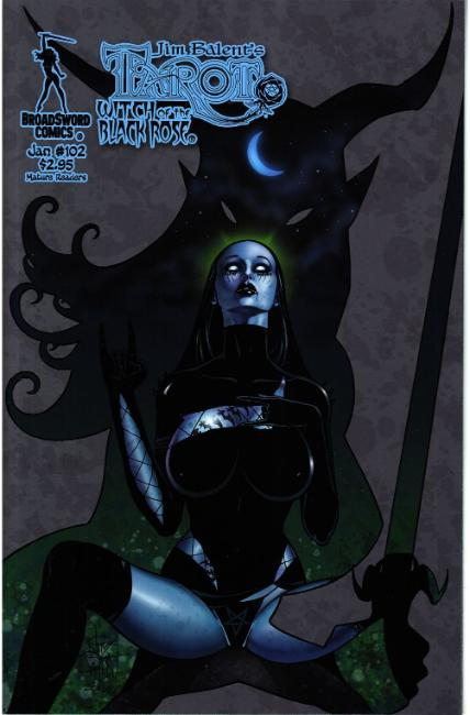 Tarot Witch of the Black Rose #102 Cover A [Broadsword Comic] THUMBNAIL