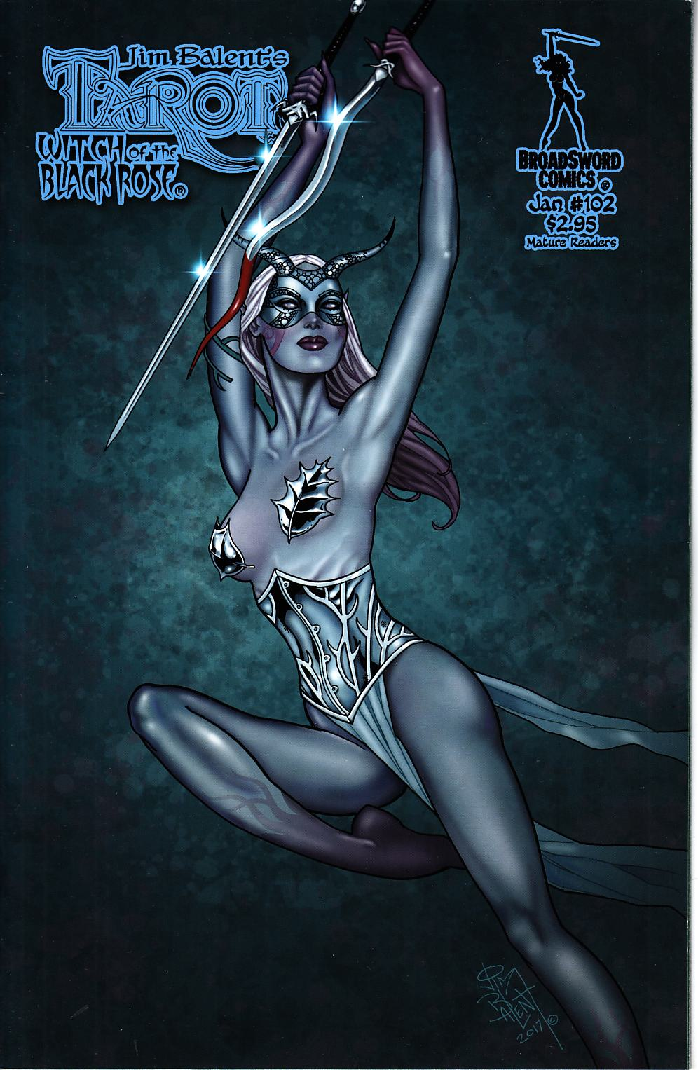 Tarot Witch of the Black Rose #102 Cover B [Broadsword Comic] THUMBNAIL