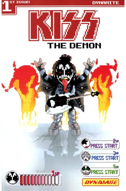KISS Demon #1 Cover C [Dynamite Comic] LARGE