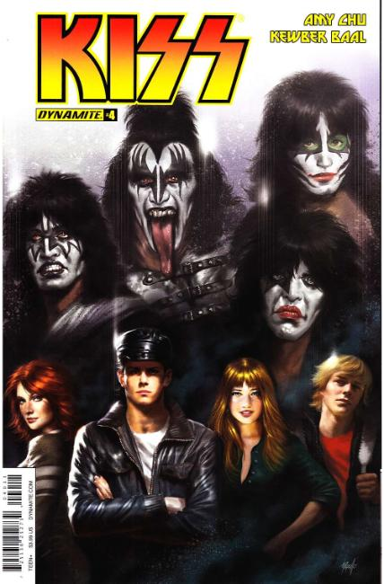 KISS #4 Cover A [Dynamite Comic] THUMBNAIL