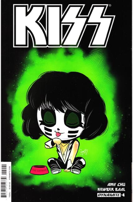 KISS #4 Cover B [Dynamite Comic] THUMBNAIL