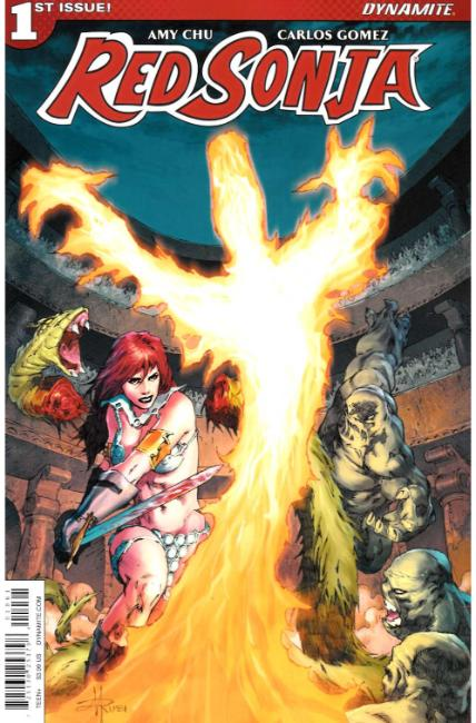 Red Sonja #1 Cover F [Dynamite Comic] THUMBNAIL