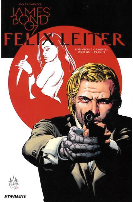 James Bond Felix Leiter #1 [Dynamite Comic]_THUMBNAIL