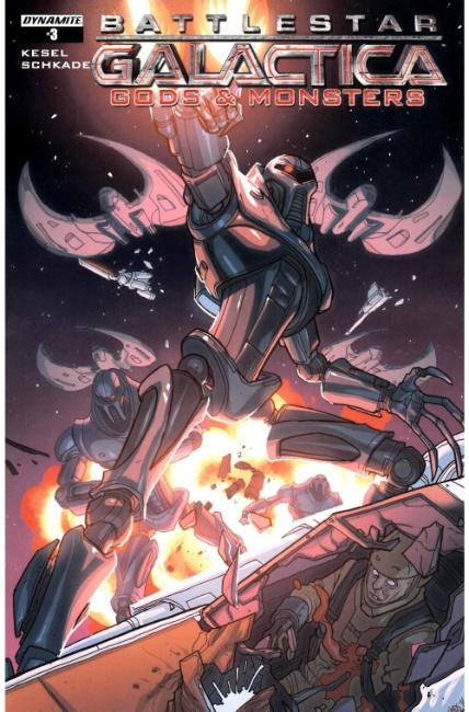 Battlestar Galactica Gods & Monsters #3 Cover B [Dynamite Comic] THUMBNAIL