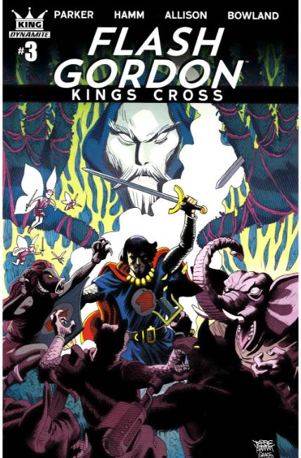 Flash Gordon Kings Cross #3 Cover A [Dynamite Comic]_THUMBNAIL