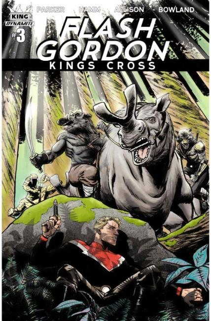 Flash Gordon Kings Cross #3 Cover B [Dynamite Comic]_THUMBNAIL