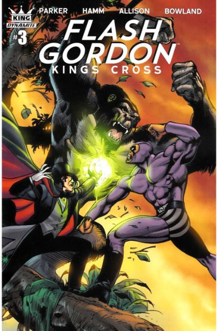Flash Gordon Kings Cross #3 Cover C [Dynamite Comic]_THUMBNAIL