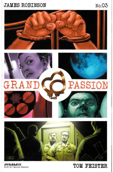 Grand Passion #3 [Dynamite Comic] THUMBNAIL