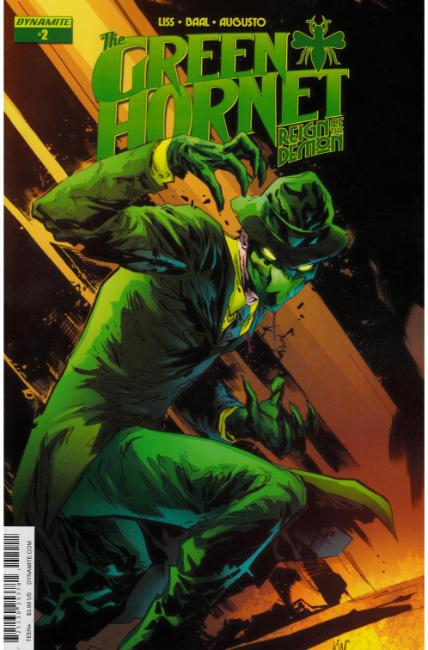 Green Hornet Reign of the Demon #2 Cover A [Dynamite Comic] LARGE