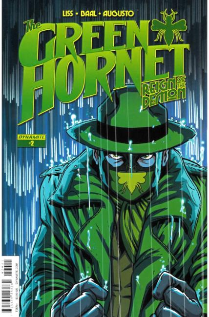 Green Hornet Reign of the Demon #2 Cover B [Dynamite Comic] THUMBNAIL