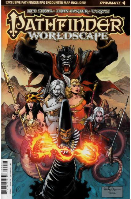 Pathfinder Worldscape #4 Cover A [Dynamite Comic]_THUMBNAIL