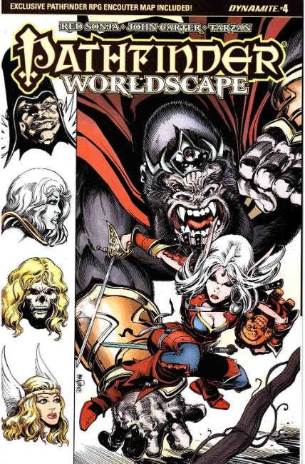 Pathfinder Worldscape #4 Cover B [Dynamite Comic]_THUMBNAIL