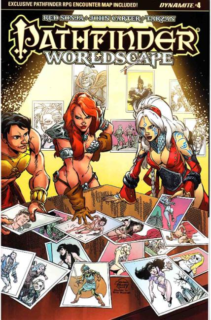 Pathfinder Worldscape #4 Cover C [Dynamite Comic]_THUMBNAIL