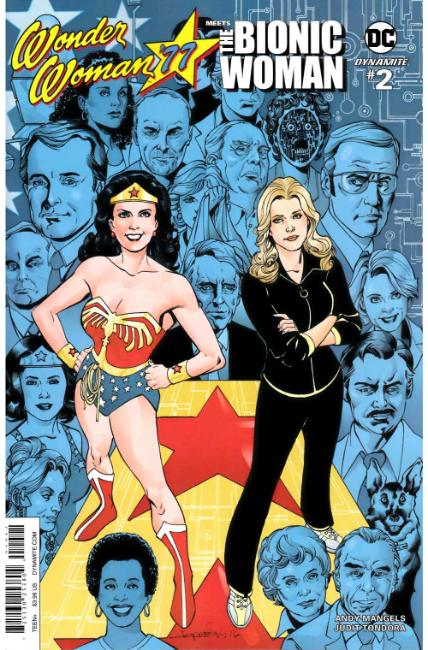 Wonder Woman 77 Bionic Woman #2 Cover B [Dynamite Comic] THUMBNAIL